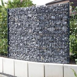 gabionenzaeune auch steinwaende genannt finden immer mehr kunden. Black Bedroom Furniture Sets. Home Design Ideas