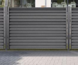 Relativ Montageanleitung: Zaunpfosten einbetonieren - Zaunberater von Zaun24 DK82