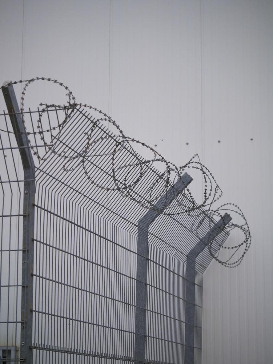 Zaun-Übersteigschutz